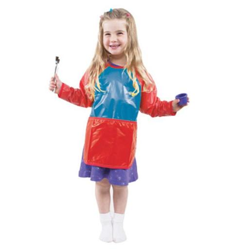 CHILDRENS FACTORY CF-400020 TODDLER SMOCK 5782F82406D044BB