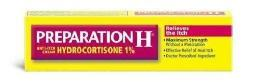 Preparation H Anti-Itch Cream Hydrocortisone 1%