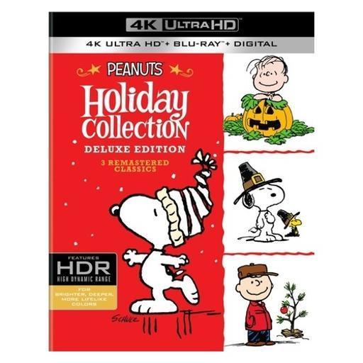 Peanuts-holiday collection (blu-ray/4k-uhd/uv/3pk/cmas/thanks/pumpkin) 1300507