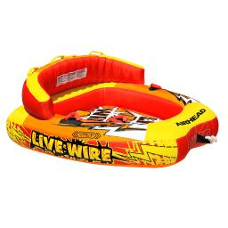 Airhead watersports airhead live wire ii  towable - 2 person ahlw-2