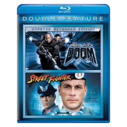 Doom/street fighter 2pk (blu ray/double feature/2discs) BR61127075