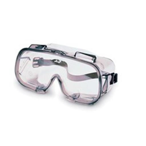 Jackson Safety 138-16361 V80 Monogoggle VPC Safety Goggles, Clear Anti-Fog Lenses with Bronze Frame