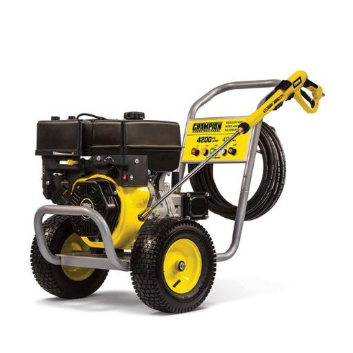 Champion 100386 4200 PSI 4.0 GPM Wheelbarrow Style Gas Powered Pressure Washer