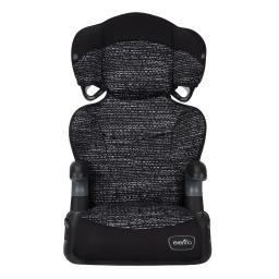 Big kid lx high-back booster, static black