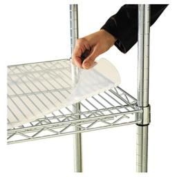 Alera SW59SL3618 Shelf Liners For Wire Shelving- 36w x 18d- Clear Plastic- 4/Pack