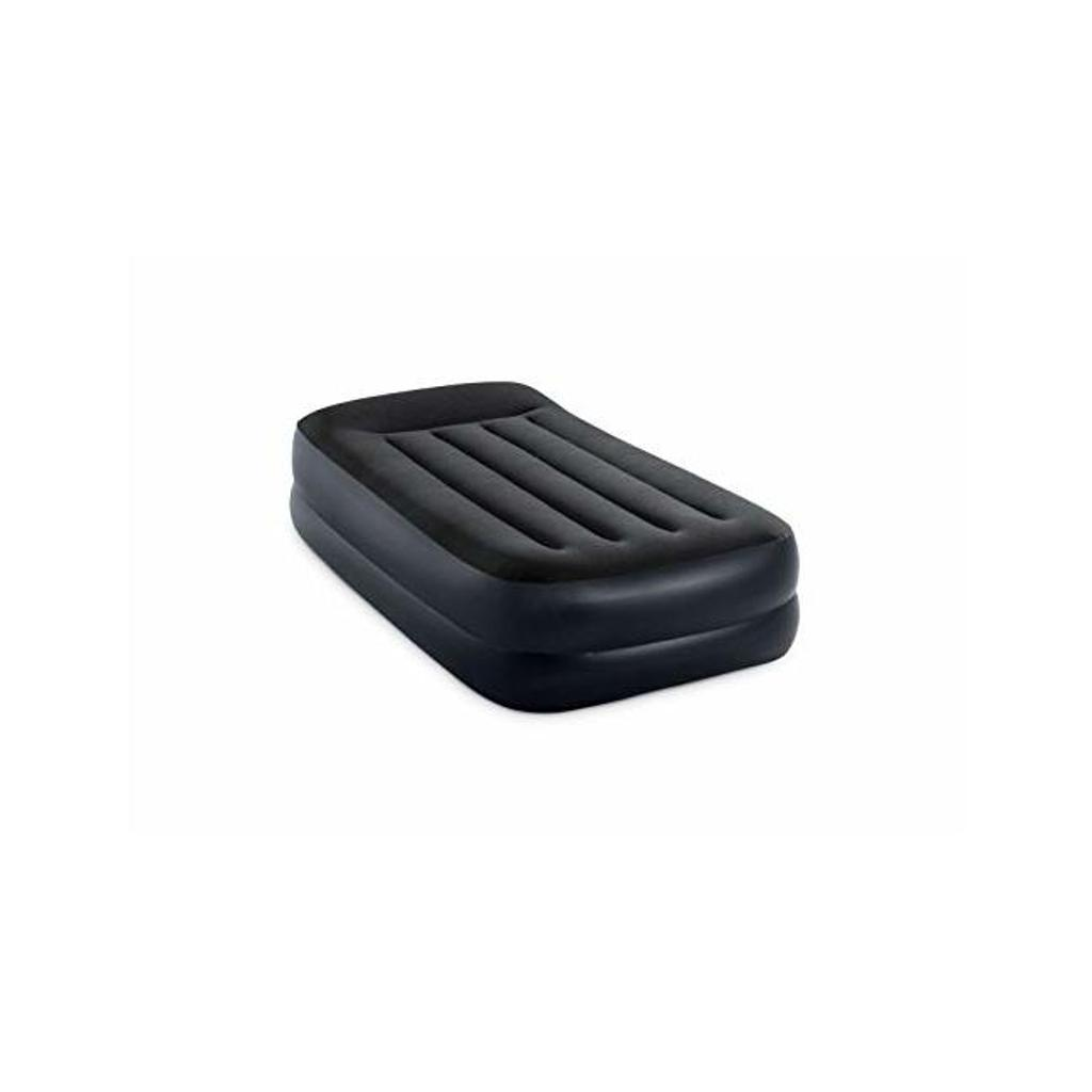 Intex 64121ed twin pillow rest raised airbed