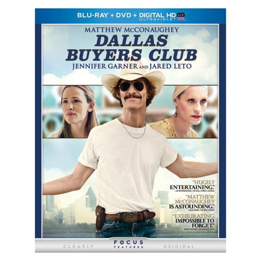 Dallas buyers club (blu ray/dvd/digital hd w/ultraviolet) 1290256