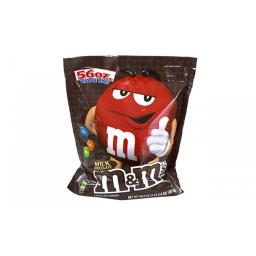 MARS MNM1137762 Plain 62 oz. Original Bulk Chocolate Candy Bag