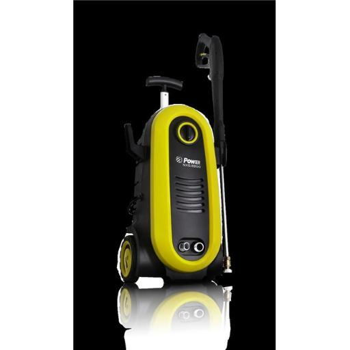 Power NXG-2200Y 20 x 30 ft. 2200 PSI 1.76 gpm Electric Pressure Washer - Yellow