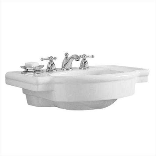 American Standard 0282.008.020 Retrospect 15.5 in. W Pedestal Sink Basin in White