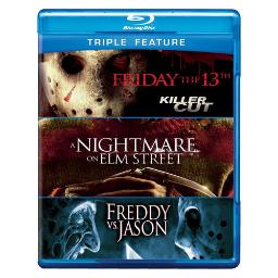Friday the 13th/nightmare on elm street/freddy vs jason (blu-ray) BRN261641