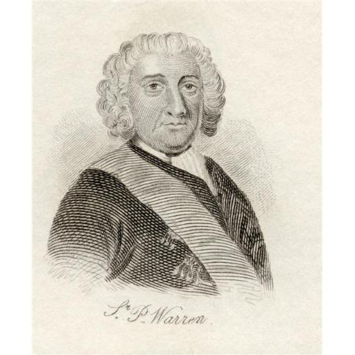 Posterazzi DPI1856233LARGE Admiral Sir Peter Warren C.1703 - 1752 British Naval Officer From The Book Poster Print, Large - 26 x 32