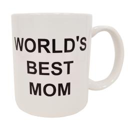 World's Best Mom Coffee Mug Michael Scott The Office TV Cup Mother's Day Gift