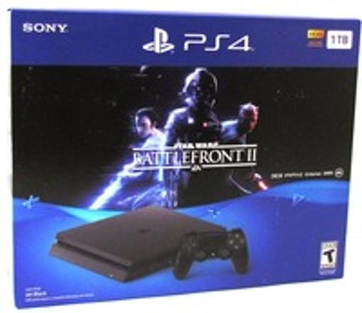 Sony STAR WARS Battlefront II PS4 Bundle - Game Pad Supported - Wireless - Jet Black - AMD Radeon - X8AWSFCYIPEHWZP3