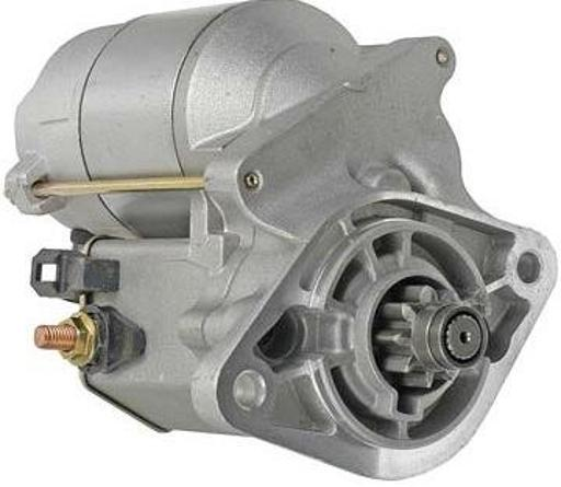 STARTER FIT CARRIER TRANSICOLD TRUCK SUMMIT SUNBIRD SUPRA 128000-4900 1280004900 .REPLACES:.KUBOTA: 19215-63010 19215-63011 19212-63010 19212-63011.NIPPONDENSO: 128000-4900 028000-6140.ITEM DESCRIPTION: STARTER.UNIT TYPE: DENSO.TYPE: OSGR.VOLTAGE: 12.POWER: 1.4 KW.ROTATION: CLOCKWISE.TOOTH COUNT: 9.GEAR OD: 29MM / 1.142IN.MOUNTING EAR 1: 9.0MM ID UNTHREADED.MOUNTING EAR 2: 9.0MM ID UNTHREADED.WEIGHT: 8.6 LBS / 3.91 KG.PRODUCT NOTICE:.As a parts distributor we mostly sell aftermarket parts (any OEM parts would be noted as such). Aftermarket parts are not sourced from the original vehicle or equipment manufacturer, but are designed to function the same as - if not better than - the original. All parts sold are new.APPLICATIONS:.CARRIER TRANSICOLD TRUCK UNITS SILVERHAWK MAGNUM KUBOTA CT3-52 (ZB600) DSL.CARRIER TRANSICOLD TRUCK UNITS SILVERHAWK PLUS KUBOTA CT3-52 (ZB600) DSL.CARRIER TRANSICOLD TRUCK UNITS STARBIRD KUBOTA CT3-37 DIESEL.CARRIER TRANSICOLD TRUCK UNITS STARBIRD KUBOTA ENGINE.CARRIER TRANSICOLD TRUCK UNITS STARBIRD PLUS KUBOTA CT3-44 (D722E) DSL.CARRIER TRANSICOLD TRUCK UNITS SUMMIT 722U.CARRIER TRANSICOLD TRUCK UNITS SUNBIRD KUBOTA CT2-35 DIESEL.CARRIER TRANSICOLD TRUCK UNITS SUNBIRD PLUS KUBOTA CT2-35 DIESEL.CARRIER TRANSICOLD TRUCK UNITS SUPRA 622 KUBOTA CT3-44-TV (D722-TV) DSL.CARRIER TRANSICOLD TRUCK UNITS SUPRA 644 KUBOTA CT3-44-TV (D722-TV) DSL.CARRIER TRANSICOLD TRUCK UNITS SUPRA 650 KUBOTA CT3-44-TV (D722-TV) DSL.CARRIER TRANSICOLD TRUCK UNITS SUPRA 722 KUBOTA CT3-44-TV (D722-TV) DSL.CARRIER TRANSICOLD TRUCK UNITS SUPRA 744 KUBOTA CT3-44-TV (D722-TV) DSL.CARRIER TRANSICOLD TRUCK UNITS SUPRA 750 KUBOTA CT3-44-TV (D722-TV) DSL.CARRIER TRANSICOLD TRUCK UNITS SUPRA 822 KUBOTA CT3-44-TV (D722-TV) DSL.CARRIER TRANSICOLD TRUCK UNITS SUPRA 844 KUBOTA CT3-44-TV (D722-TV) DSL.CARRIER TRANSICOLD TRUCK UNITS SUPRA 850 KUBOTA CT3-44-TV (D722-TV) DSL.CARRIER TRANSICOLD TRUCK UNITS TDB KUBOTA CT3-52 (ZB600) DSL.CARRIER TRANSICOLD TRUCK UNITS TDS
