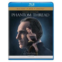 Phantom thread (blu ray/dvd w/digital) BR62195001