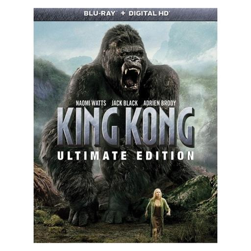 King kong (blu ray/dvd w/digital hd) (ultimate edition/3discs) 1285370