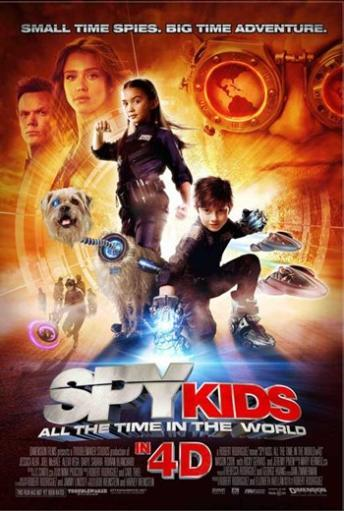 Spy Kids 4 All the Time in the World Movie Poster (11 x 17) 789493