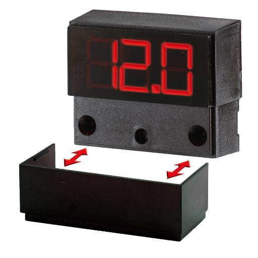 PANELTRONICS DIGITAL METER AC AMPS (0-100 VAC)