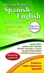 Merriam-Webster 038427 Merriam-Websters Spanish-English Dictionary, Paperback