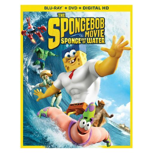 Spongebob movie-sponge out of water (blu ray/dvd w/digital hd combo) PMALA0IE2GLNBP6L