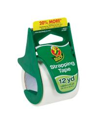 Duck 1.88 in. W x 12 yd. L Strapping Tape White - Case Of: 1;
