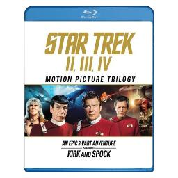 Star trek-motion picture trilogy (blu ray) (2016 repackage) BR59178296