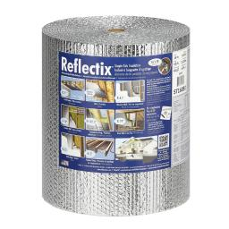 Reflectix 16 in. W x 50 ft. L R-3.7 to R-21 Reflective Radiant Barrier Foil Insulation Roll 67 - Case Of: 1;