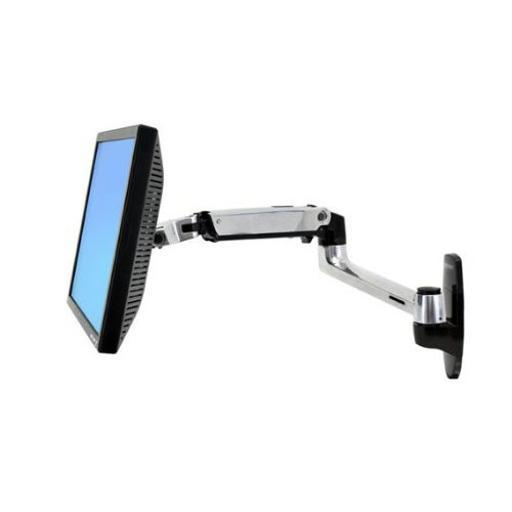 Ergotron 45-243-026 ergotron lx wall mount lcd monitor arm. mount an lcd monitor up to 32in in screen