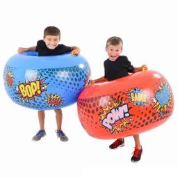 Body Bumper Inflate Set Inflatable Boppers Fun Toy Novelty Wrestling Bop Sumo