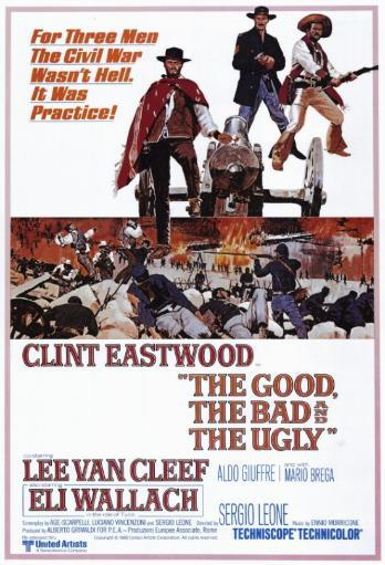 The Good, the Bad and the Ugly Movie Poster Print (27 x 40)