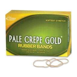 ALL20195 - Pale Crepe Gold Rubber Bands by Alliance