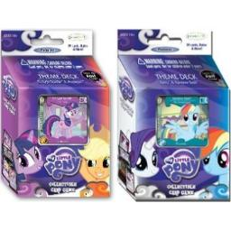 Twilight Sparkle & Rainbow Dash MLP Theme Deck Bundle