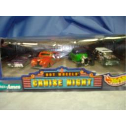 Hot Wheels Cruise Night Collection