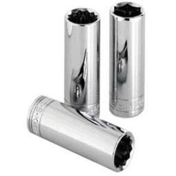 SK Hand Tool 40826 12 Point 13/16-Inch Drive Deep Socket, 1/2-Inch, Chrome