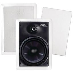 BIC AMERICA M-PRO6W Weather Resist 6 1/2 in Wall Speakers