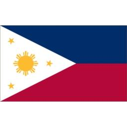 Valley Forge Flag 2-Foot by 3-Foot Nylon Philippines Flag