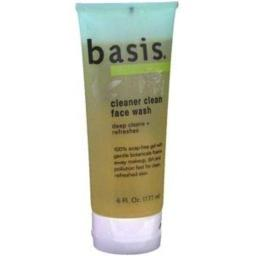 Basis Cleaner Cl Face Wash 6 Oz