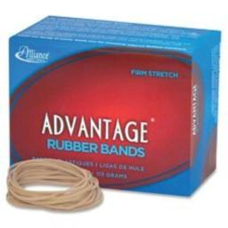 "Rubber Bands, Size 32, 1/4 lb., 3""x1/8"", 175/BX, Natural, Sold as 1 Box"