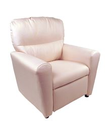 Dozydotes Contemporary  Tween Recliner in Blush