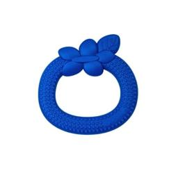 green sprouts Fruit Teether made from Silicone | Soothes gums & promotes healthy oral development | Soft, flexible silicone eases pain, Easy to hold, gum, & chew, Dishwasher safe