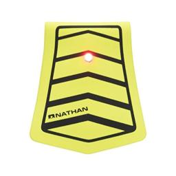 Nathan Mag Strobe Clip on, Safety Yellow/Black