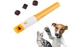 Battery Powdered Dog Cat Pet Electric Nail Trimmer
