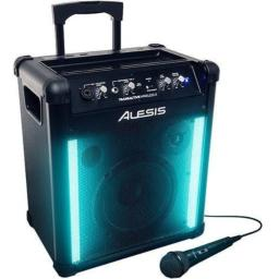Alesis TransActive Wireless 2 | Portable Rechargeable Bluetooth Speaker with Lights