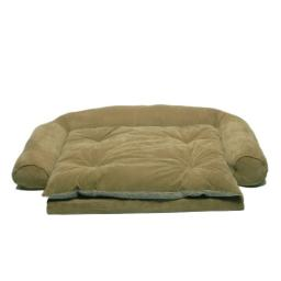 CPC Ortho Sleeper Ex Large Comfort Couch with Removable Cushion, Sage