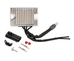 Accel 201137C Chrome Motorcycle Voltage Regulator for Harley-Davidson
