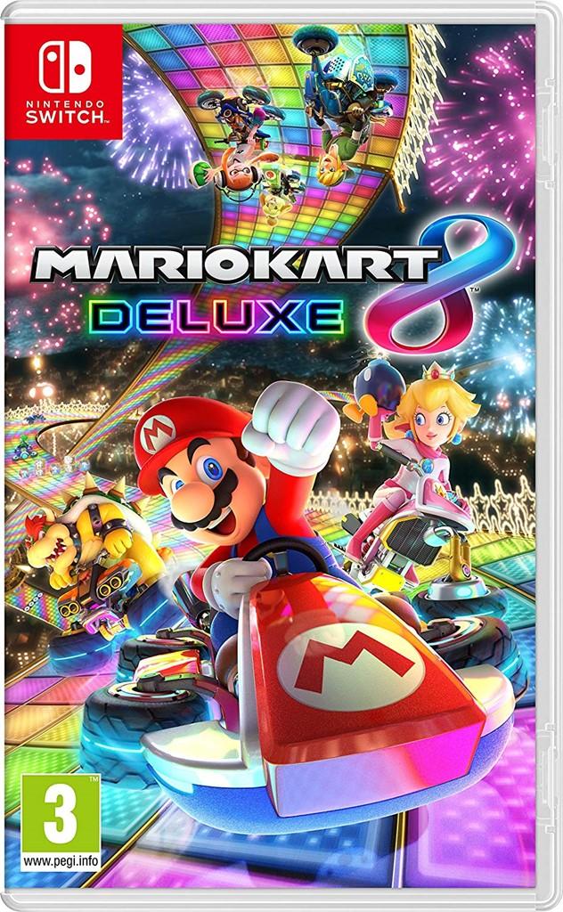 Mario Kart 8 Deluxe Nintendo Switch Video Game Sealed Import Region Free