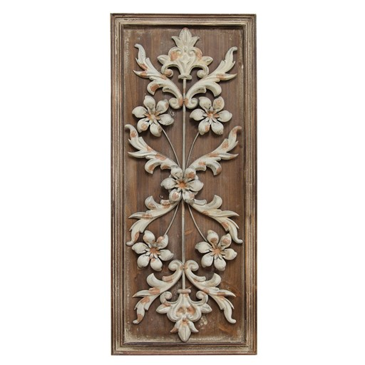Stratton Home Decor Vintage Panel Wall Decor