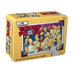 USAopoly Group Photo: The Simpsons in a Tin Game