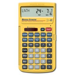 Calculated Industries 4019 Material Estimator Calculator | Finds Project Building Material Costs for DIY's, Contractors, Tradesmen, Handymen and Construction Estimating Professionals (Renewed)